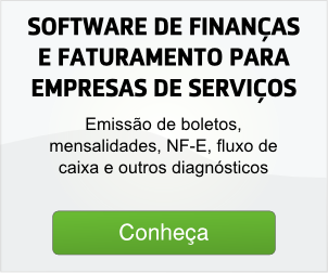software de Finan�as e faturamento para empresas de servi�os